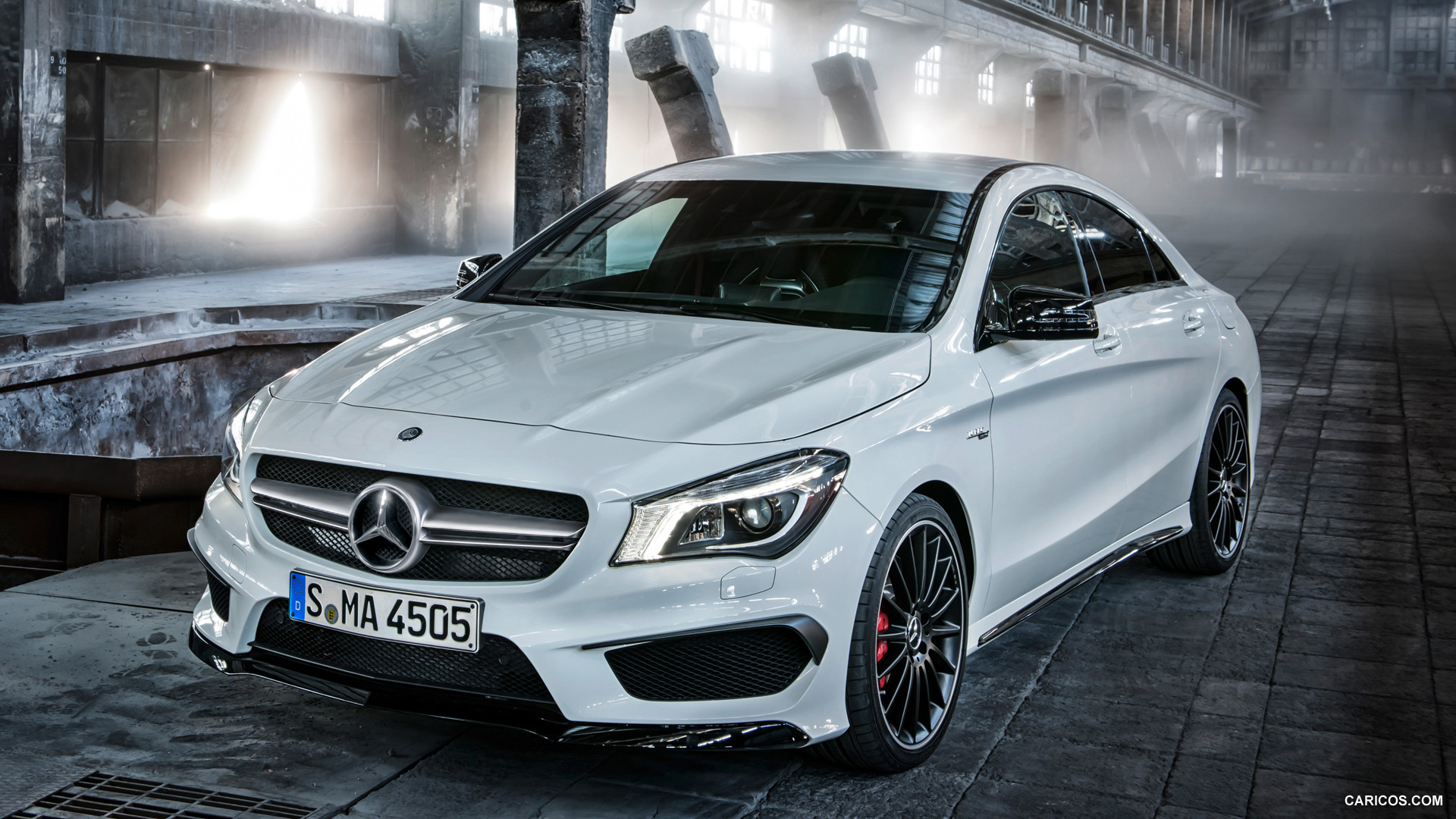 2014 Mercedes Benz CLA 45 AMG   Front HD Wallpaper 20 1920x1080
