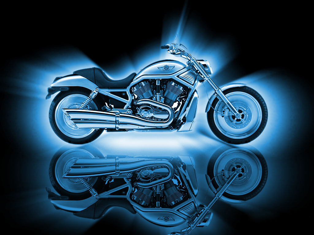 Desktop wallpaper downloads Motorcycles Kawasaki Harley Davidson 1024x768