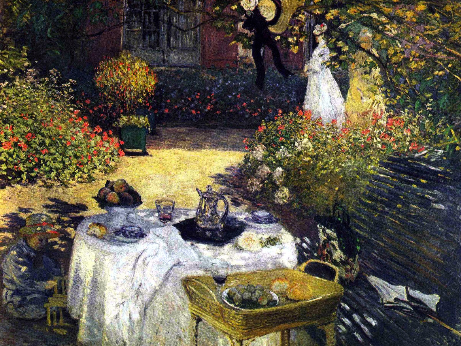 HD Western Paintings French impressionist painting Claude Monet 1600x1200
