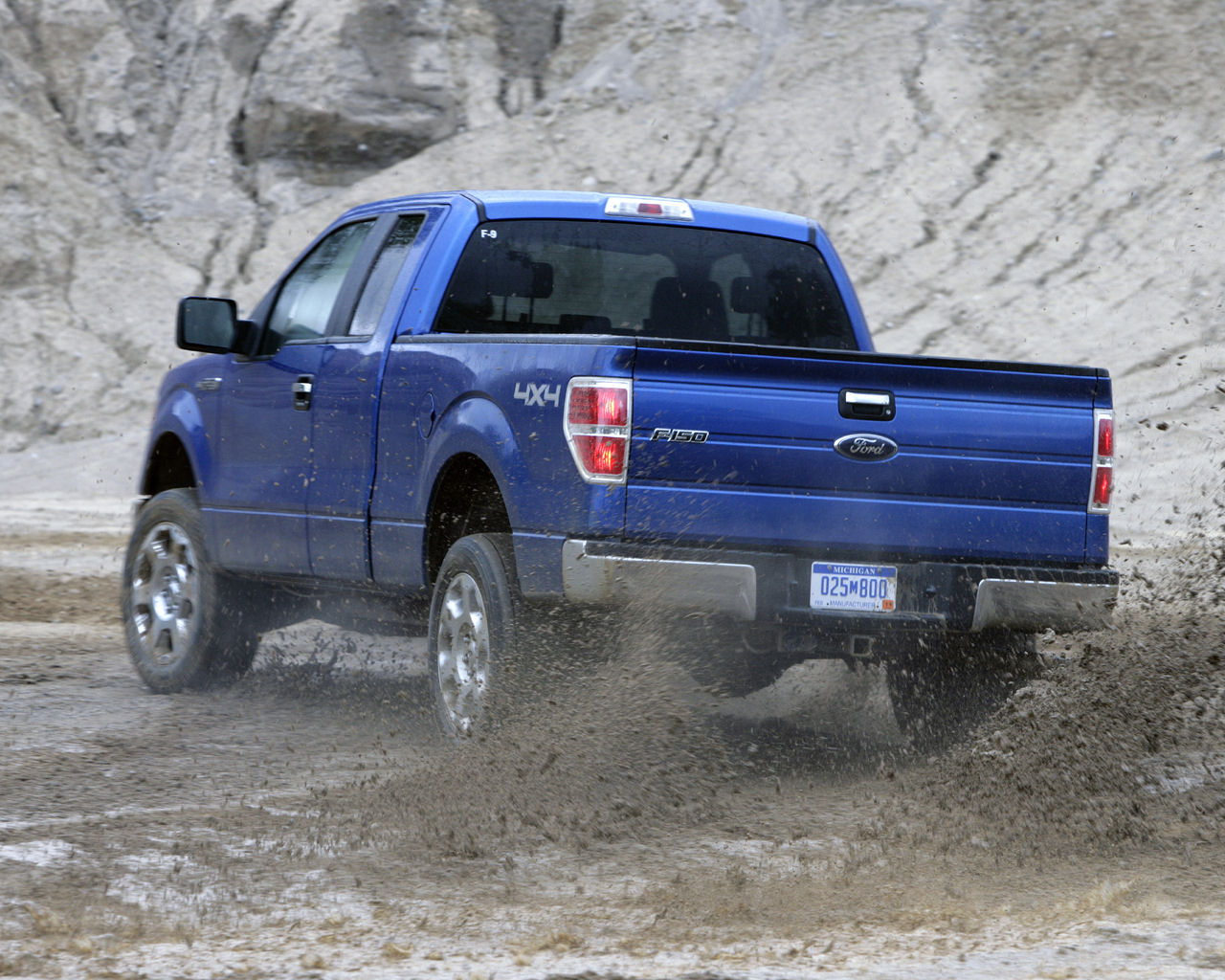Ford F150 Desktop Wallpaper 1280x1024