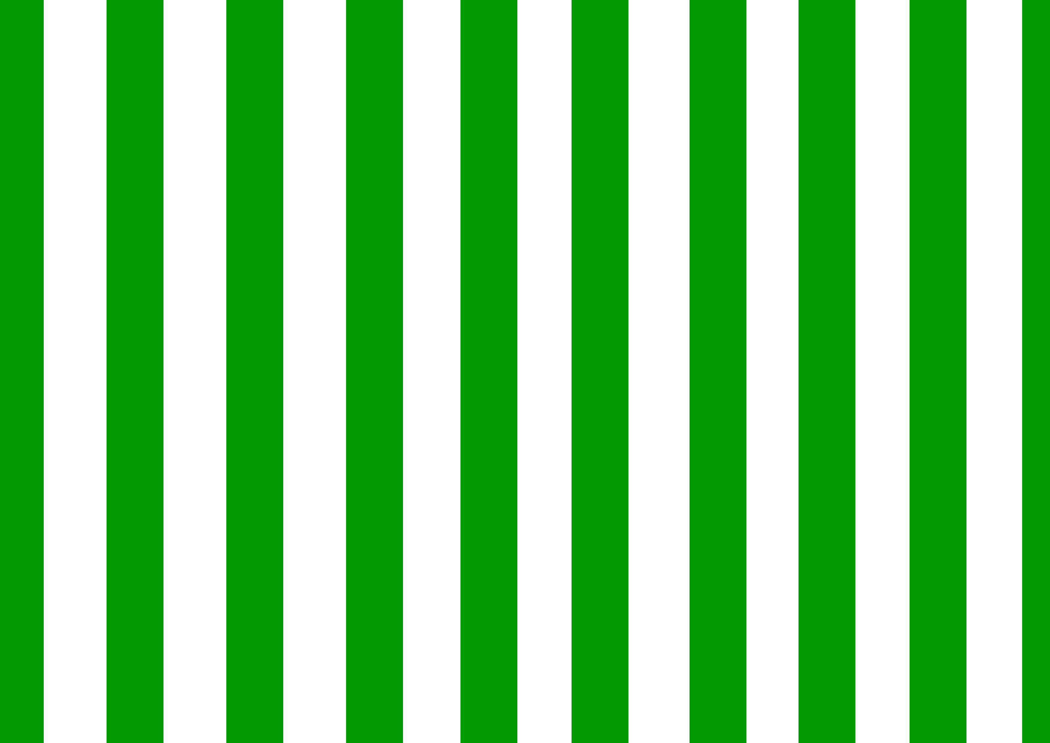 47 Green And White Striped Wallpaper