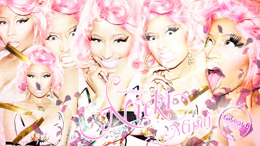 Nicki Minaj Wallpaper by YLMarshallDesigns1 900x506