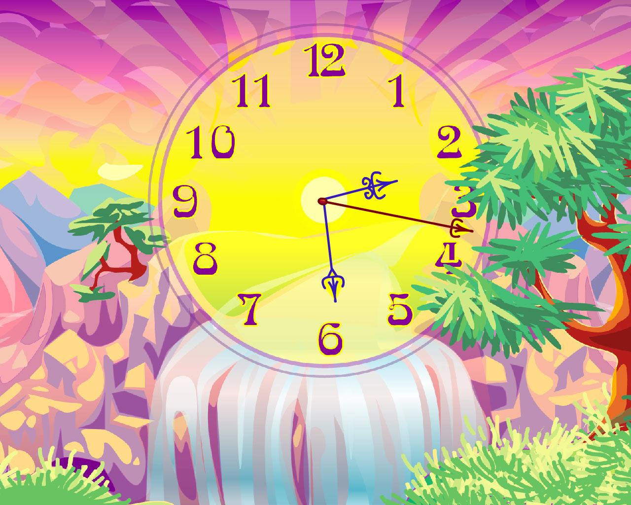 radiant clock live animated - photo #14