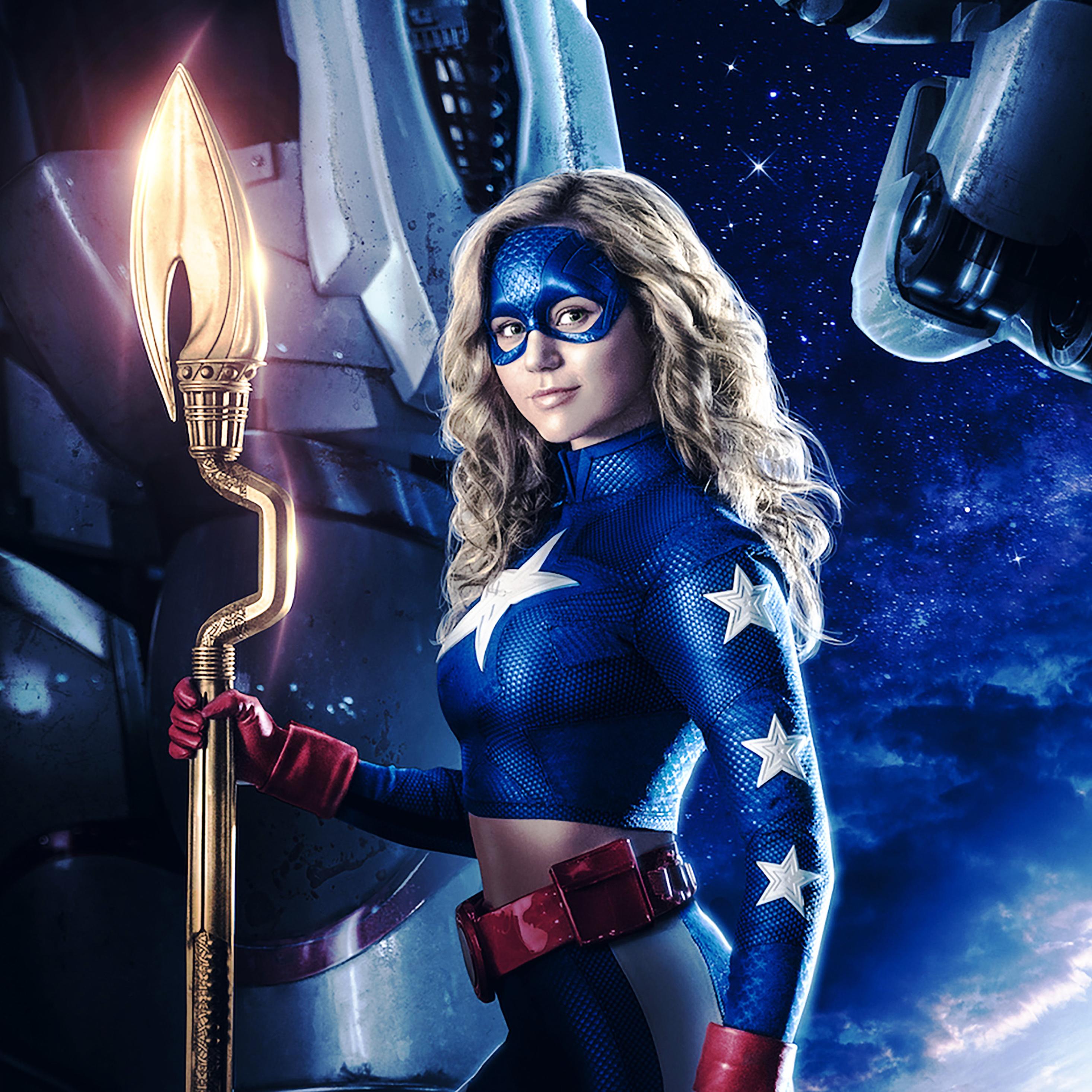 2932x2932 Stargirl DC Universe Ipad Pro Retina Display Wallpaper 2932x2932