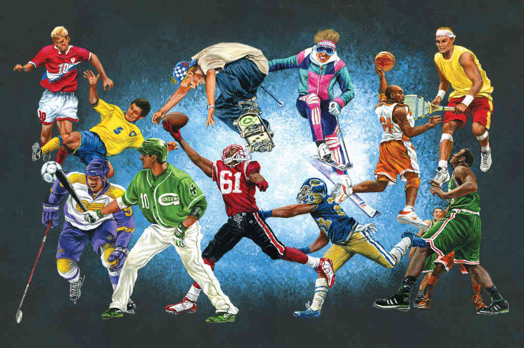 All sports wallpaper wallpapersafari for Basketball mural wallpaper