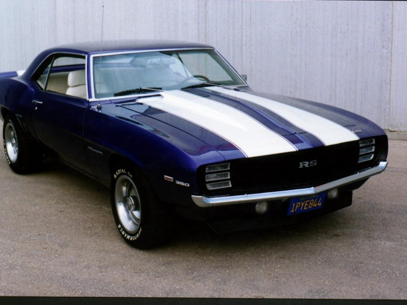 1969 SS Camaro HD Picture Wallpaper 800x600