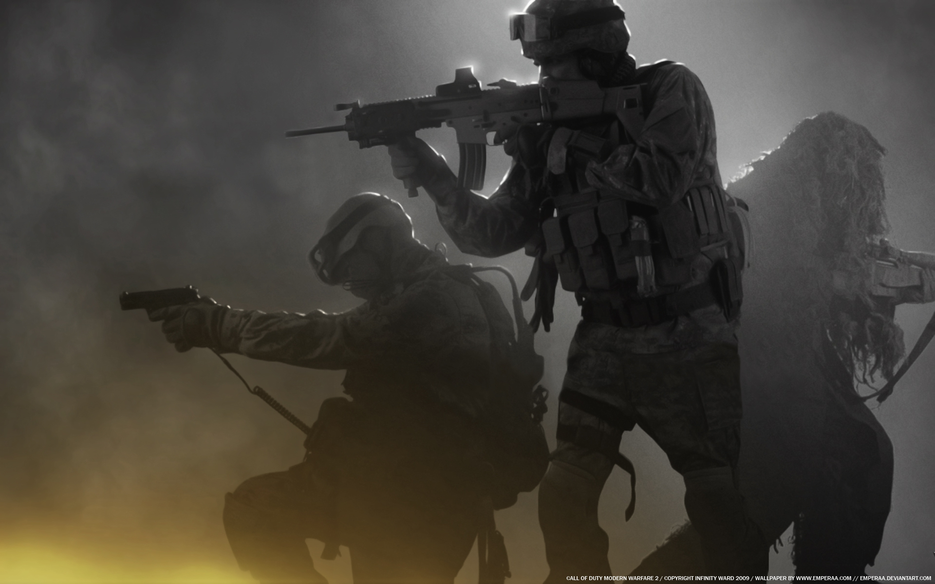 soldiers video games call of duty modern warfare call 1920x1200 1920x1200