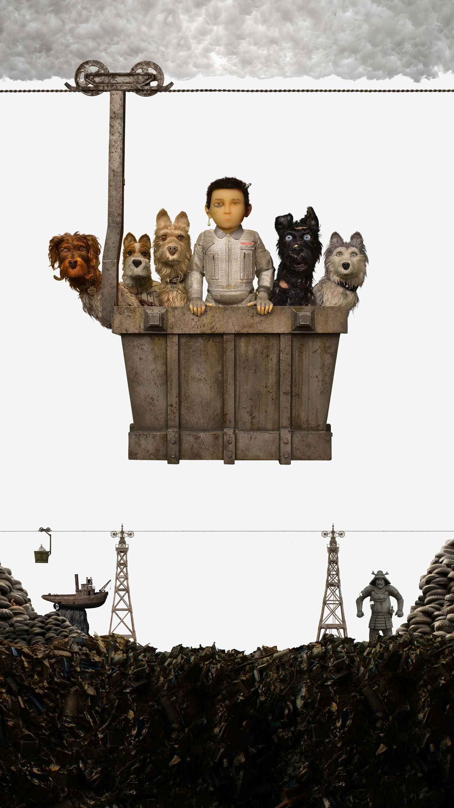 Isle of Dogs 2018 Phone Wallpaper Wallpapers Isle of dogs 1536x2732