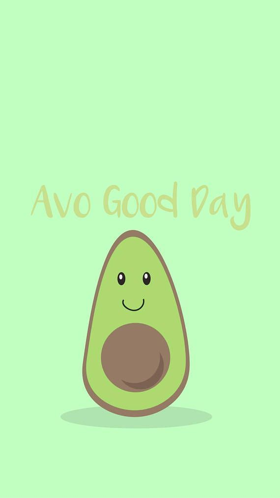 Ava Good Day 5s iPhone Wallpapers iPhone Avocado Phone 570x1012