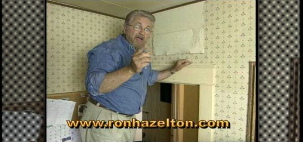 How to Remove wallpaper quickly easily Construction Repair 1280x600