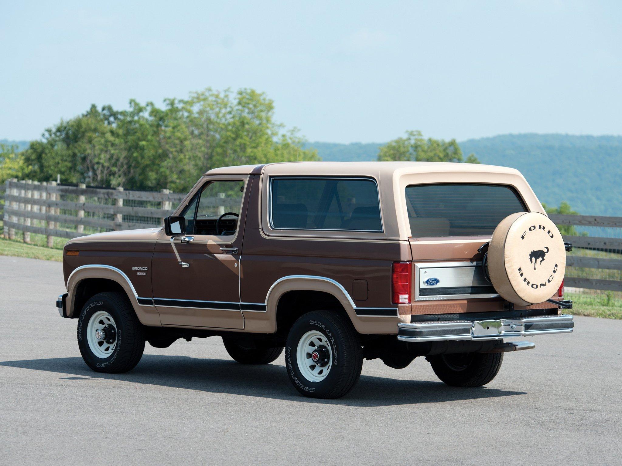 1982aei86 Ford Bronco XLT suv 4x4 wallpaper background 2048x1536