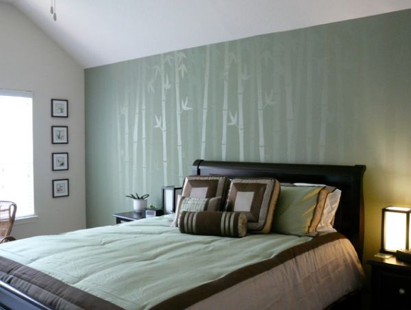 Five Asian Inspired Wall Covering Ideas 600x452