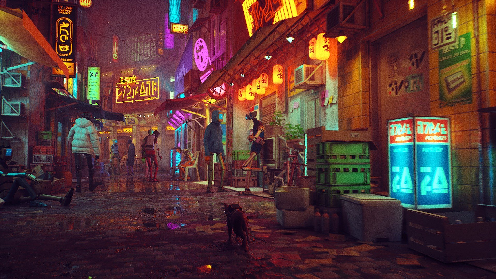 Stray is a cat adventure coming to PS5 in 2021   VG247 1920x1080