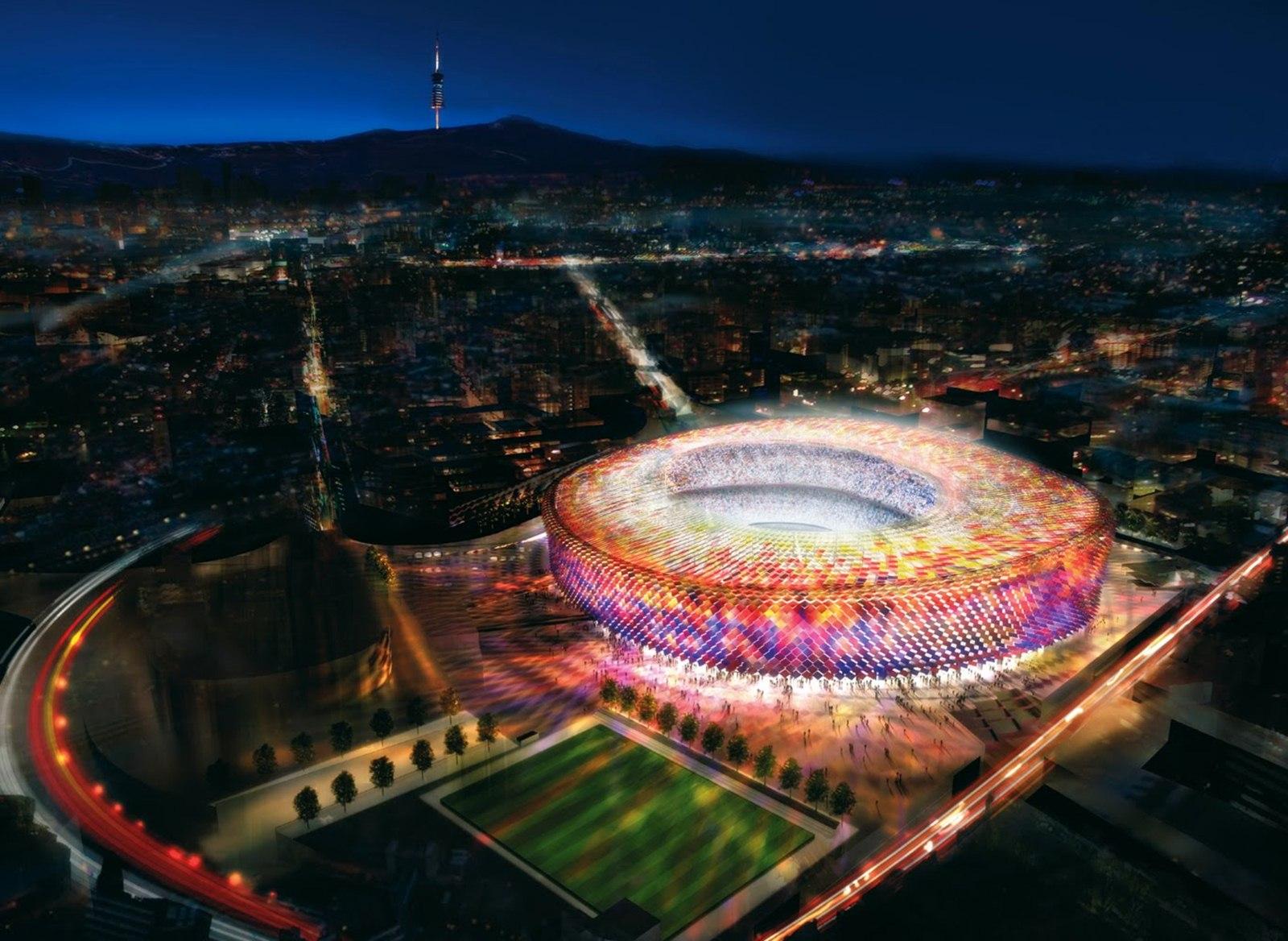 camp nou Camp Nou Barcelona 1600x1168