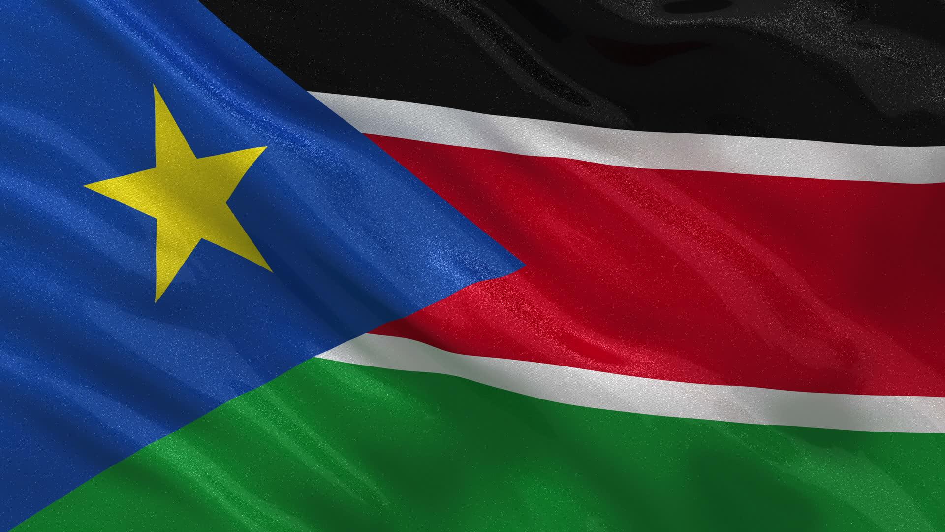 South Sudan Flag   Wallpaper High Definition High Quality 1920x1080