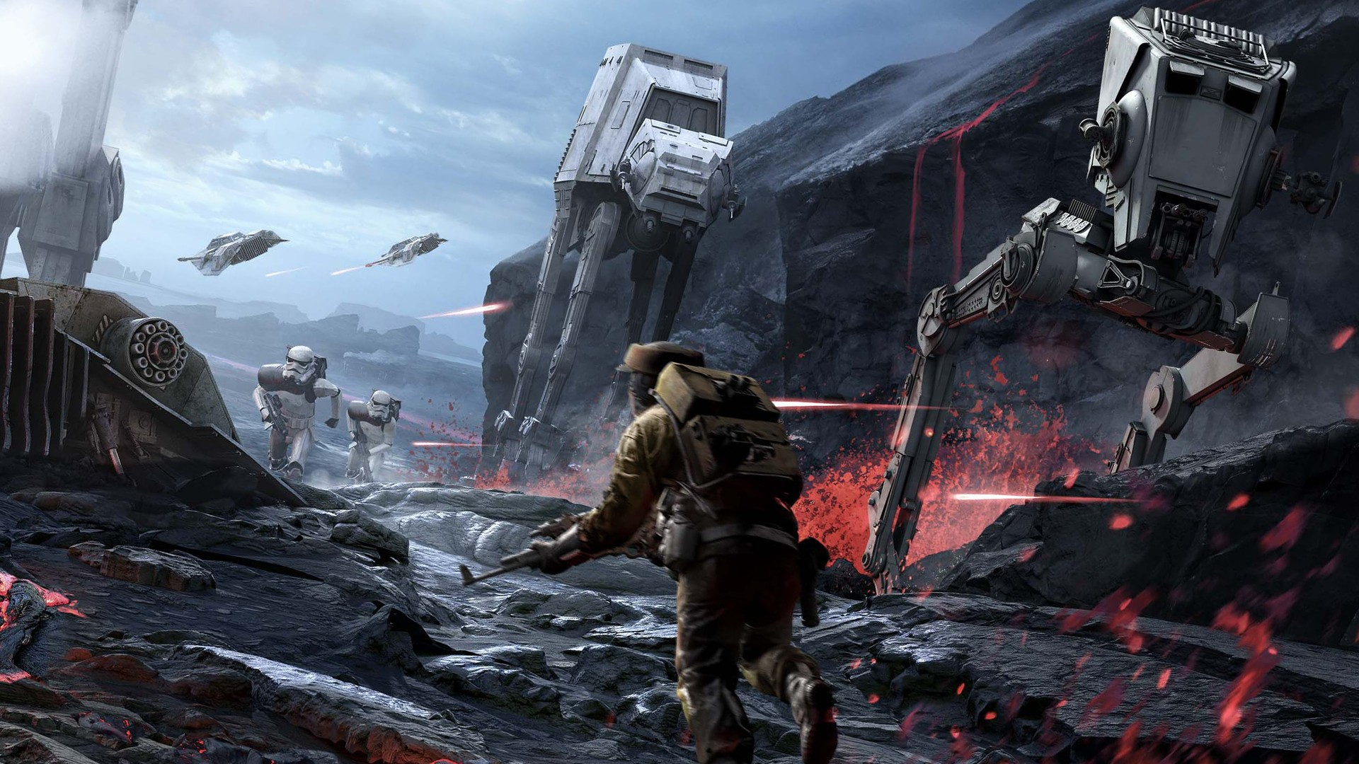 star wars battlefront at at wallpapers (29 wallpapers) – hd wallpapers