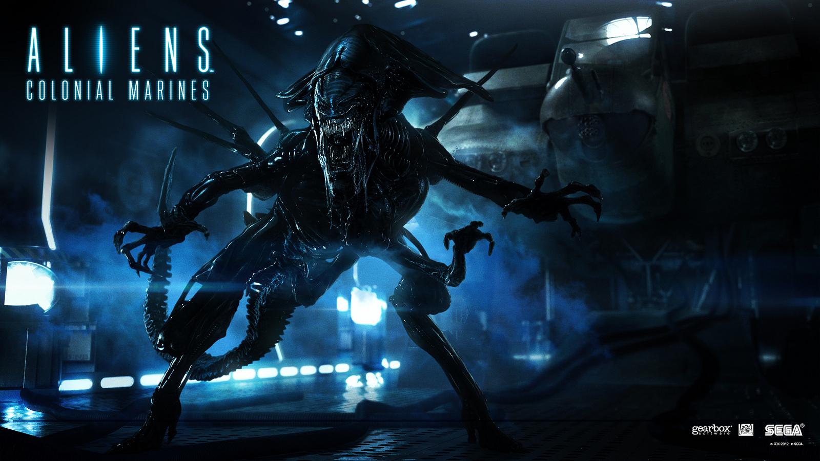 Alien Queen Wallpaper for Aliens Colonial Marines Alien Movies 1600x900