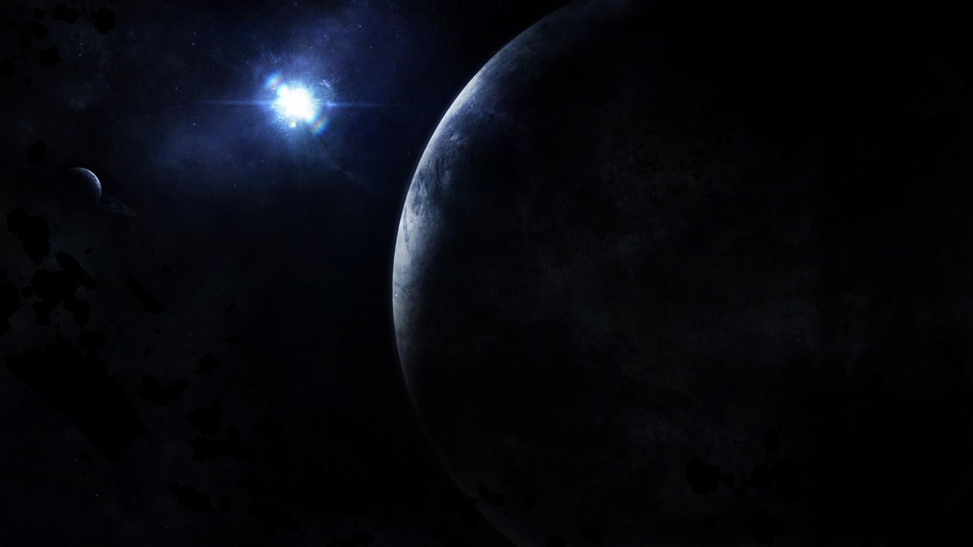 Dark Space Wallpaper 1920x1080