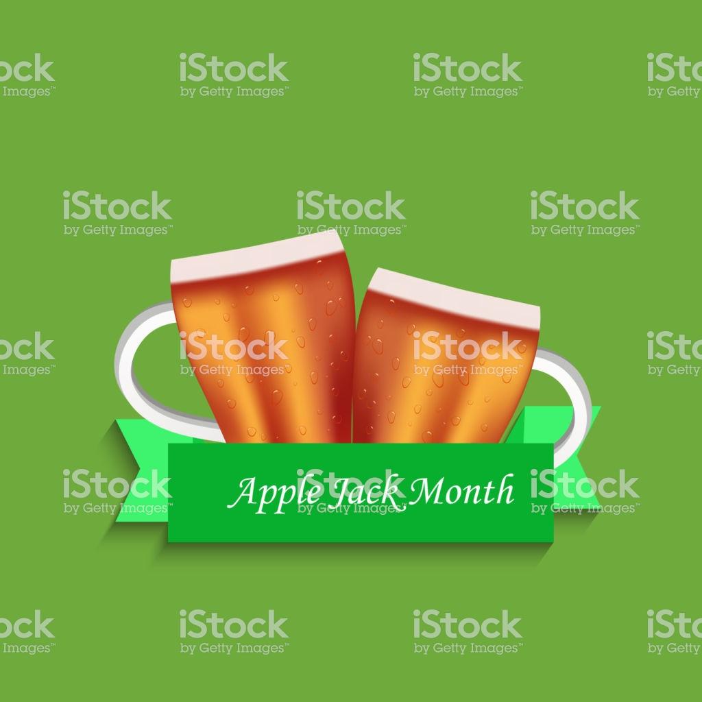 Illustration Of Applejack Month Background Stock Vector Art More 1024x1024