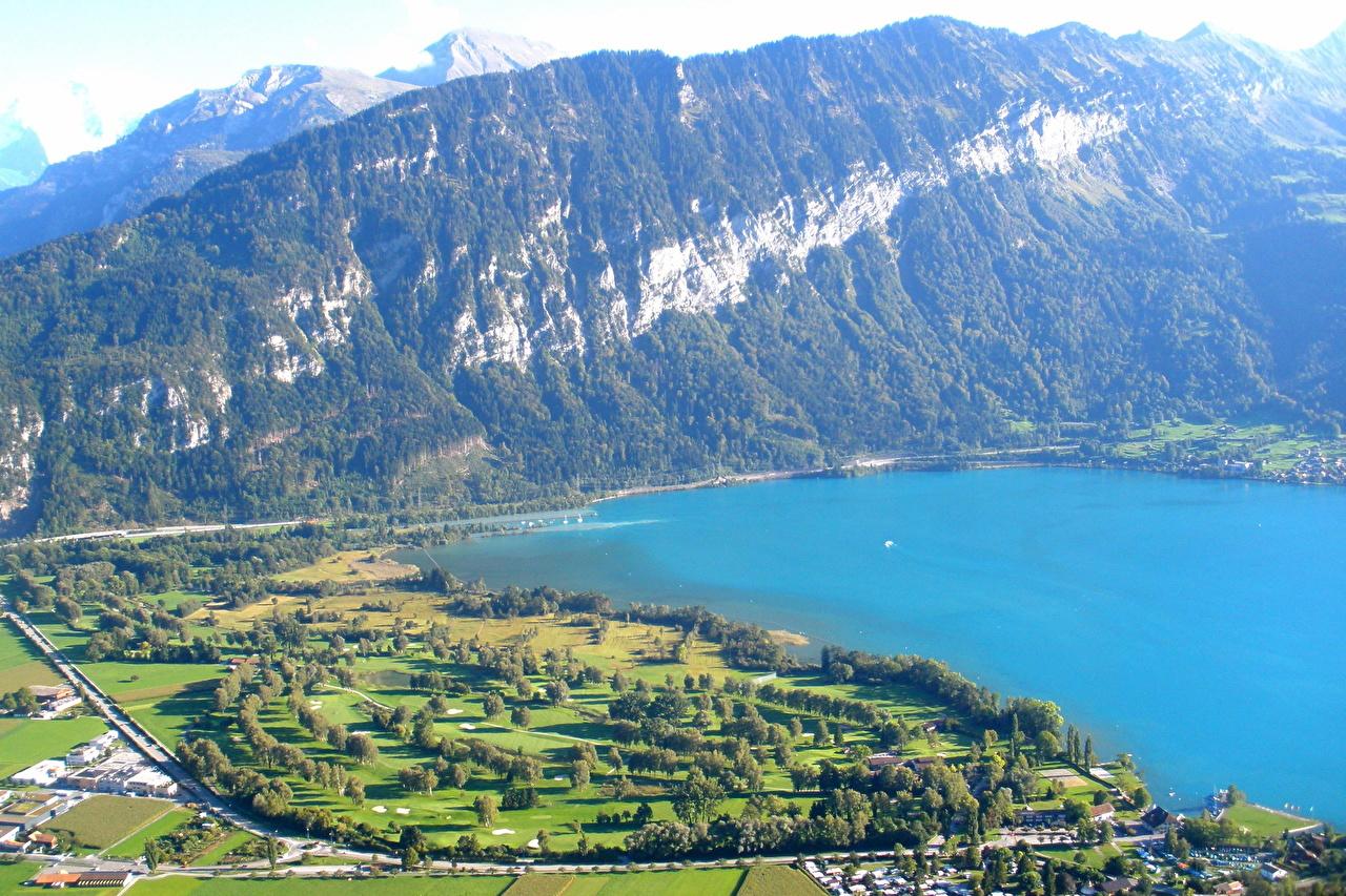 Images Interlaken SWITZERLAND Nature mountain 1280x853