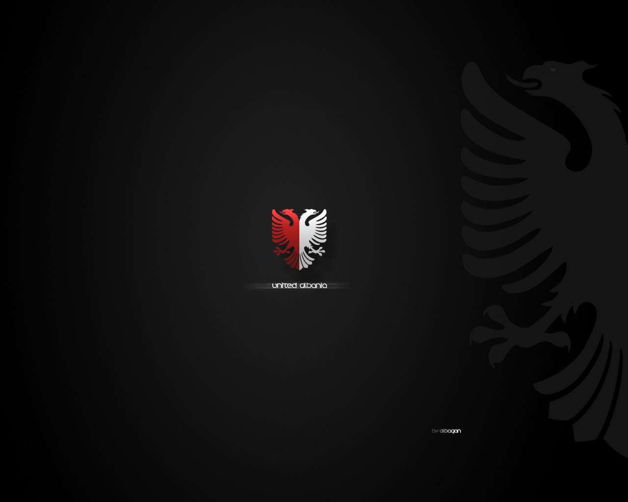 Black Red Eagle Wallpaper