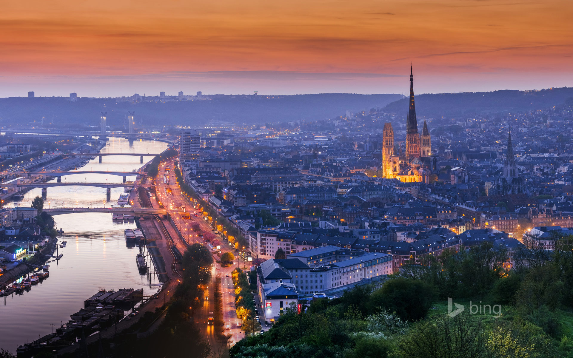 Rouen Normandy France Tim Gartsideage fotostock   Bing 1920x1200