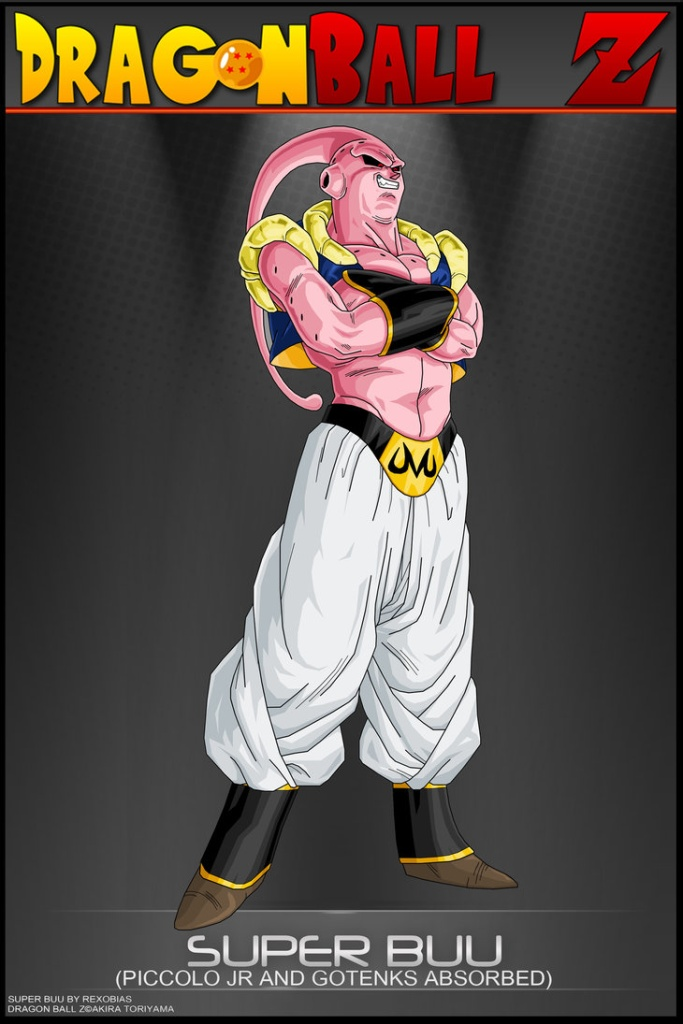 dbz super buu wallpaper wallpapersafari