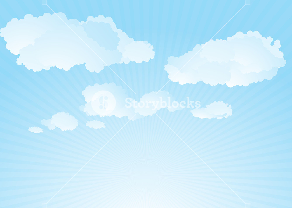 Clouds Vector Background Royalty  Stock Image   Storyblocks 1000x712
