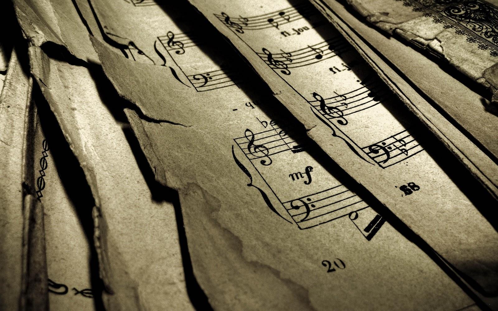 norbis Blog Musical Notation Wallpaper 1600x1000