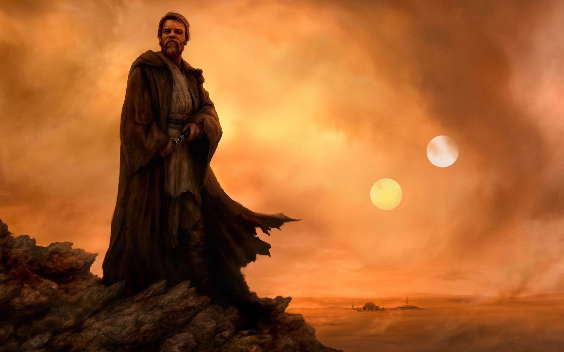 Obi Wan Kenobi   Star Wars wallpaper 17694 1920x1200