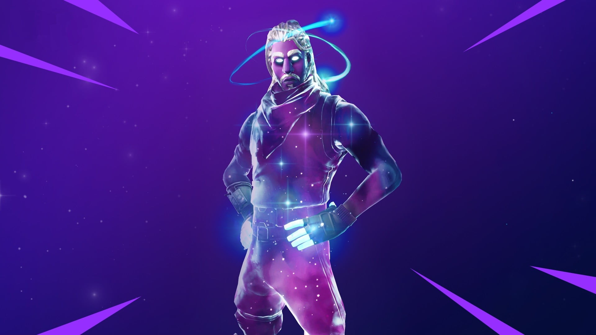 Fortnite Galaxy Skin HD Wallpaper 4279 Wallpapers and Stock 1920x1080