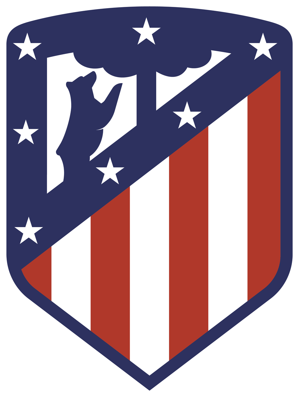 Brand New New Logo for Atltico Madrid by Vasava 1000x1325