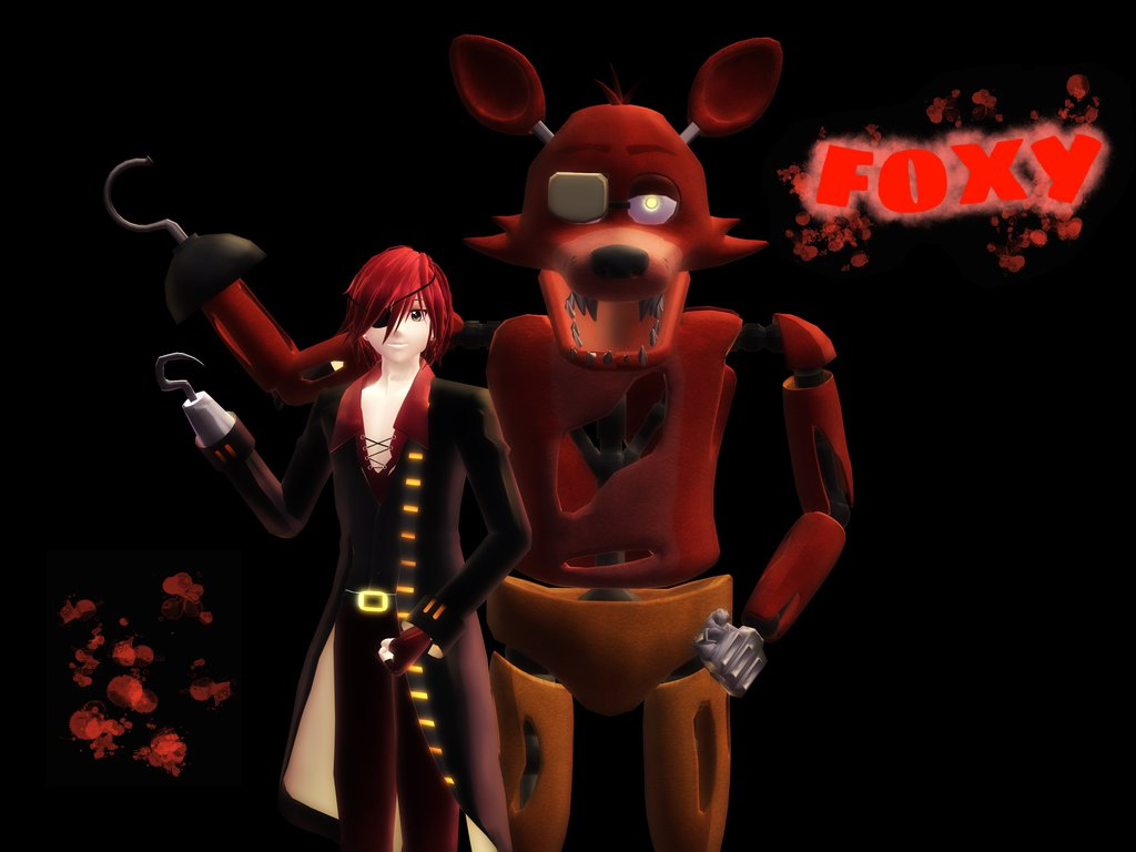 Free download MMD] FNaF Foxy wallpaper by Kantaro Luxpus