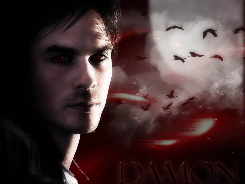 vampire diaries damon - 800×600