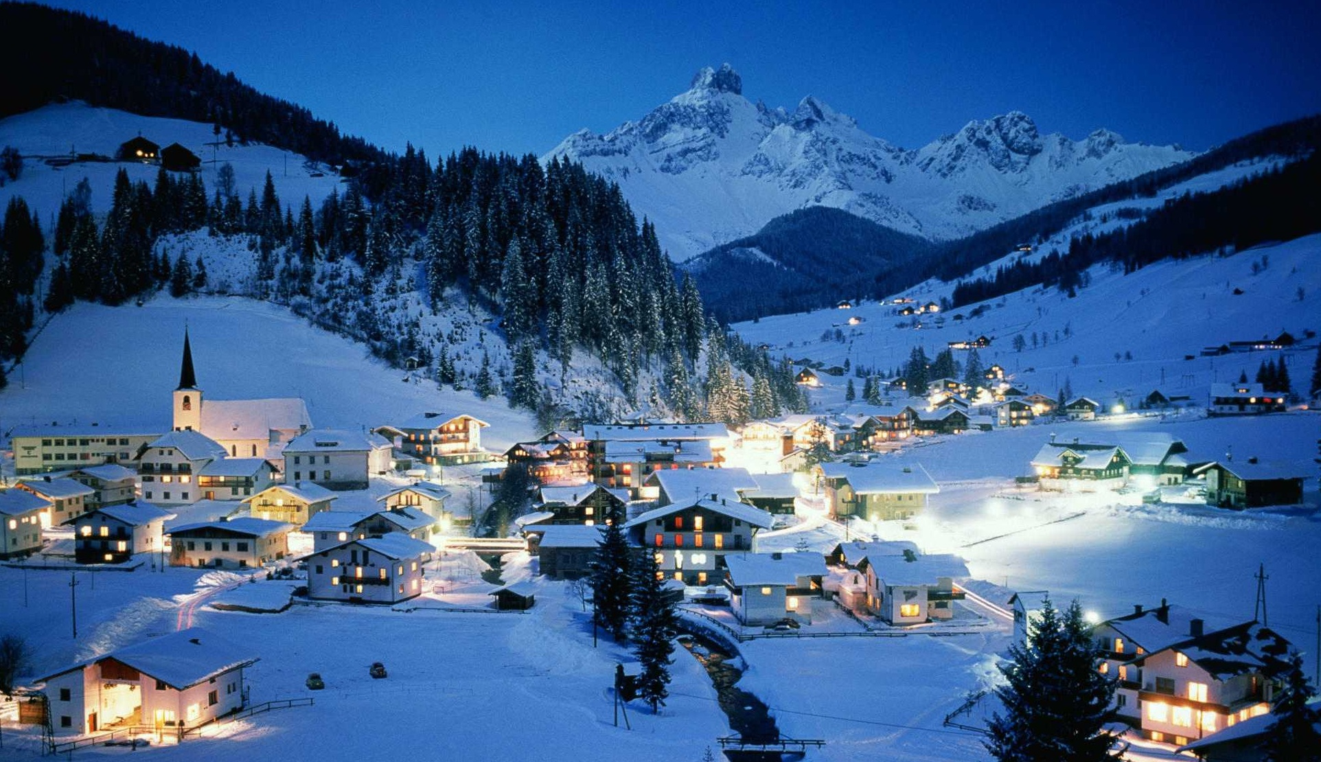 ski resort of Ischgl Austria wallpapers and images   wallpapers 1924x1110