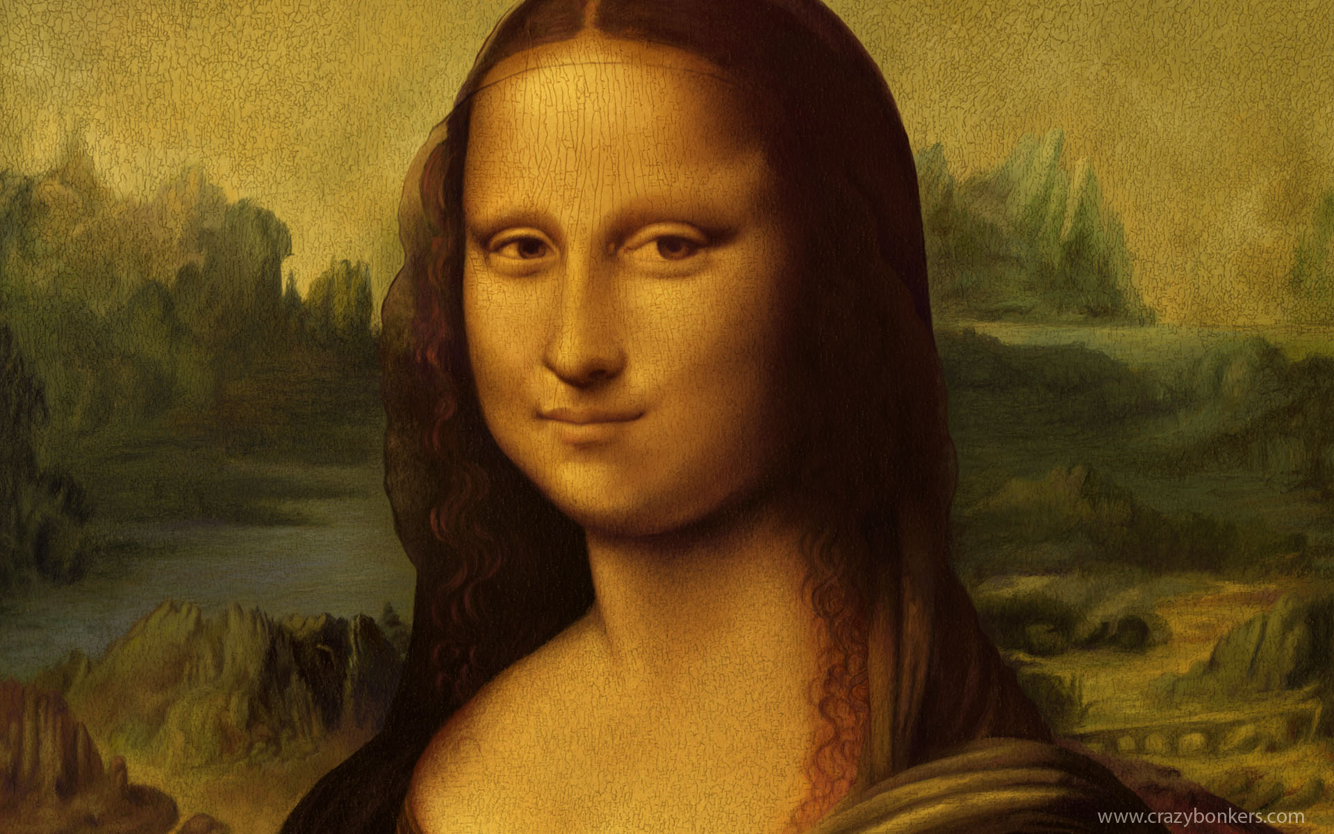 Mona Lisa HD Wallpaper 1920x1200