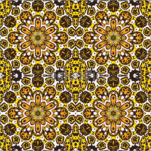 Illustration Of Abstract Yellow And Brown Wallpaper High Resolution 500x500