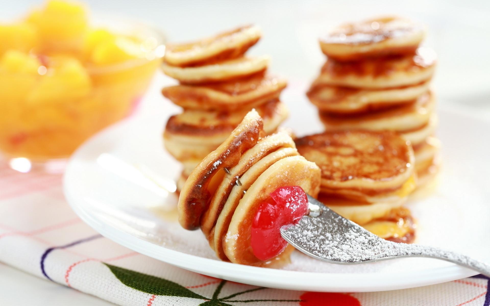 Mini Pancakes Wallpaper 40420 1920x1200px 1920x1200