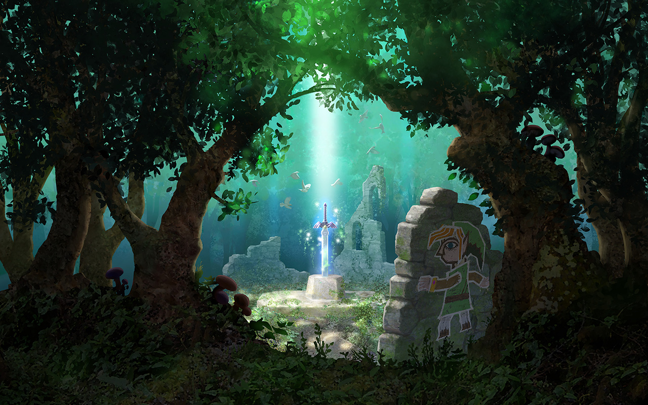 Official Site   The Legend of Zelda A Link Between Worlds for the 1280x800