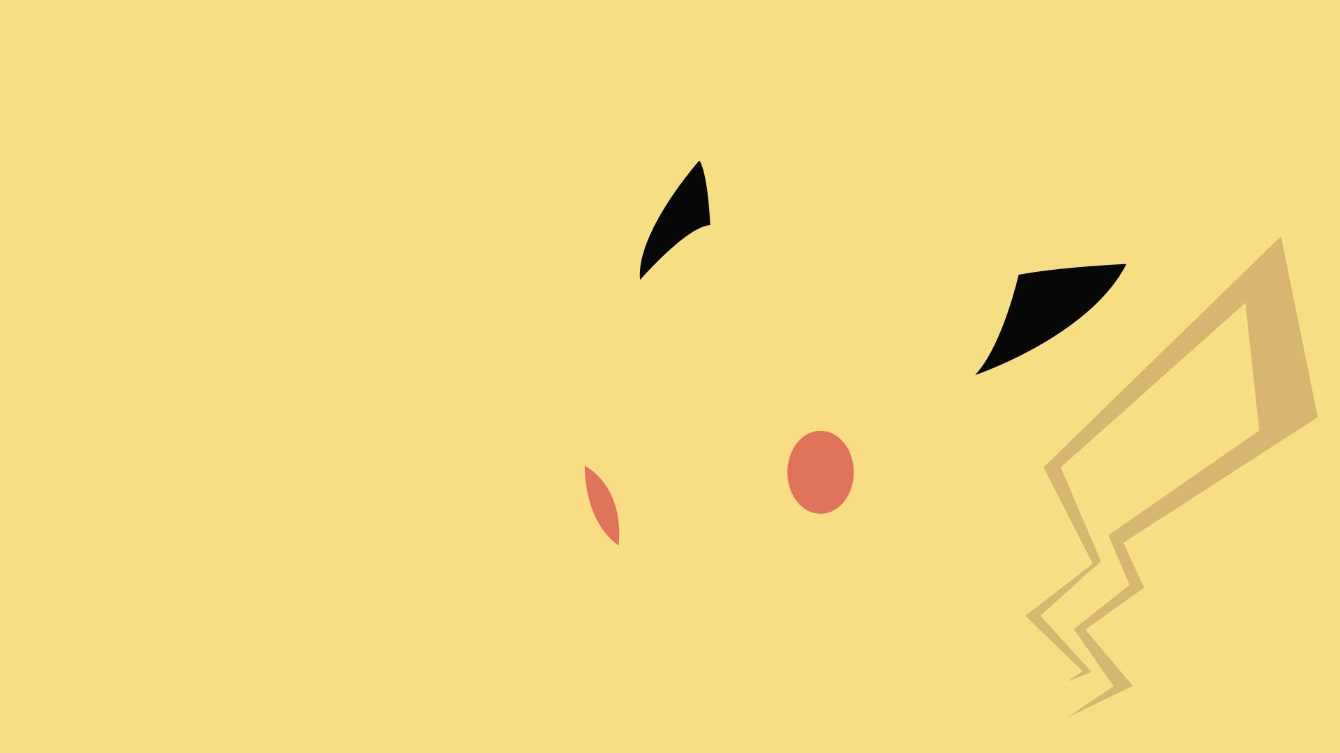 Abstract Pokemon Pikachu Wallpaper 1920x1080