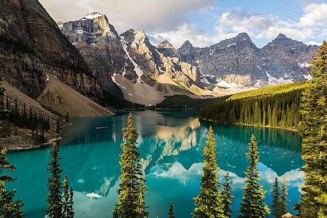 Majestic Canada Mountains and Forests Wallpaper Wall Mural   Self 640x426