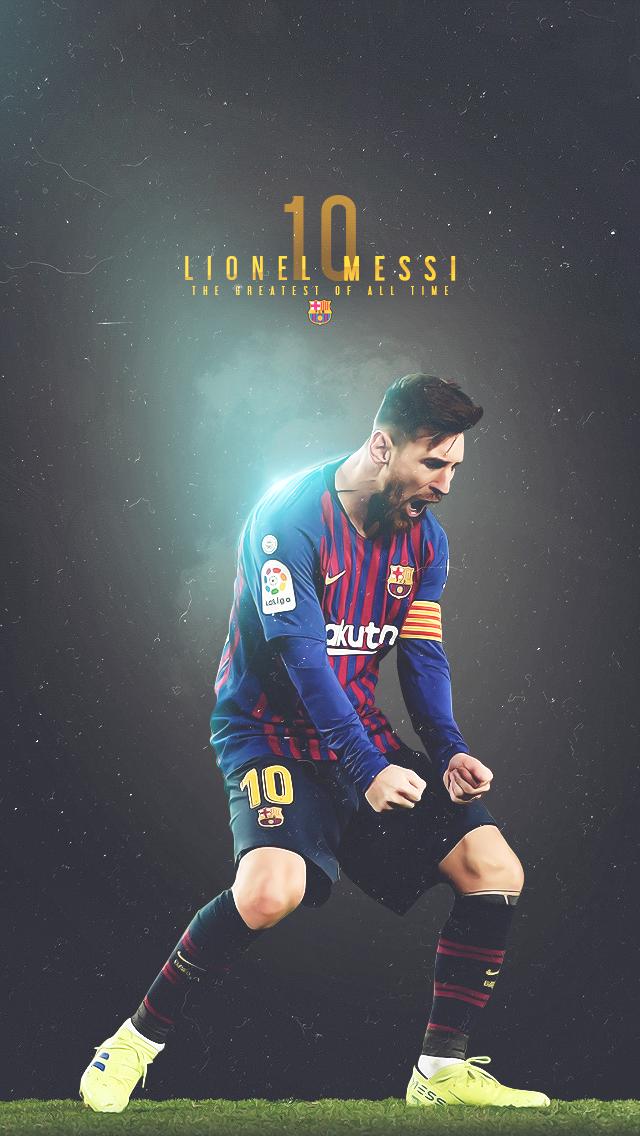 barcaart Lionel Messi 640x1136