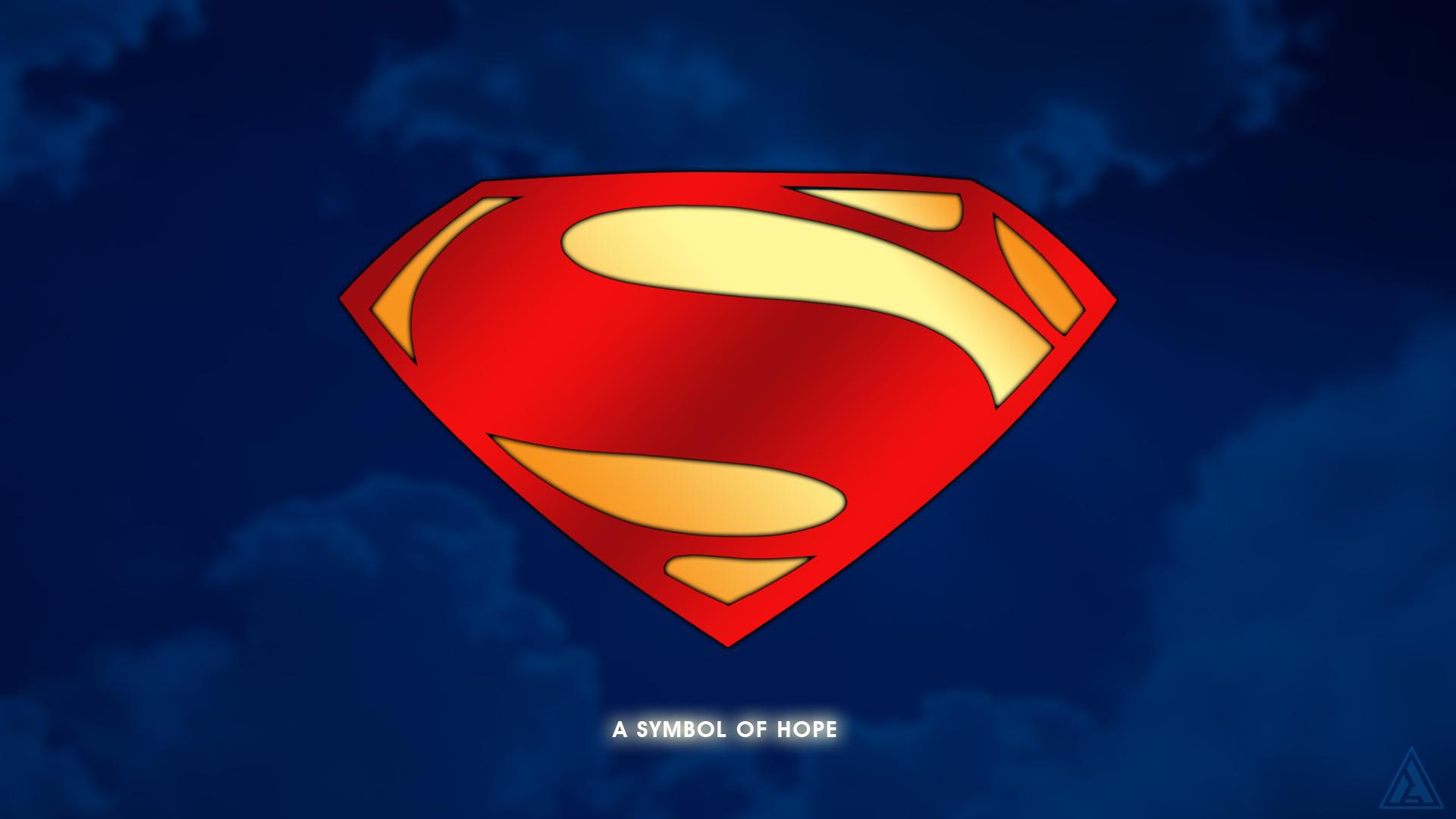 Updated Superman Shieldlogo Wallpaper 1920x1080