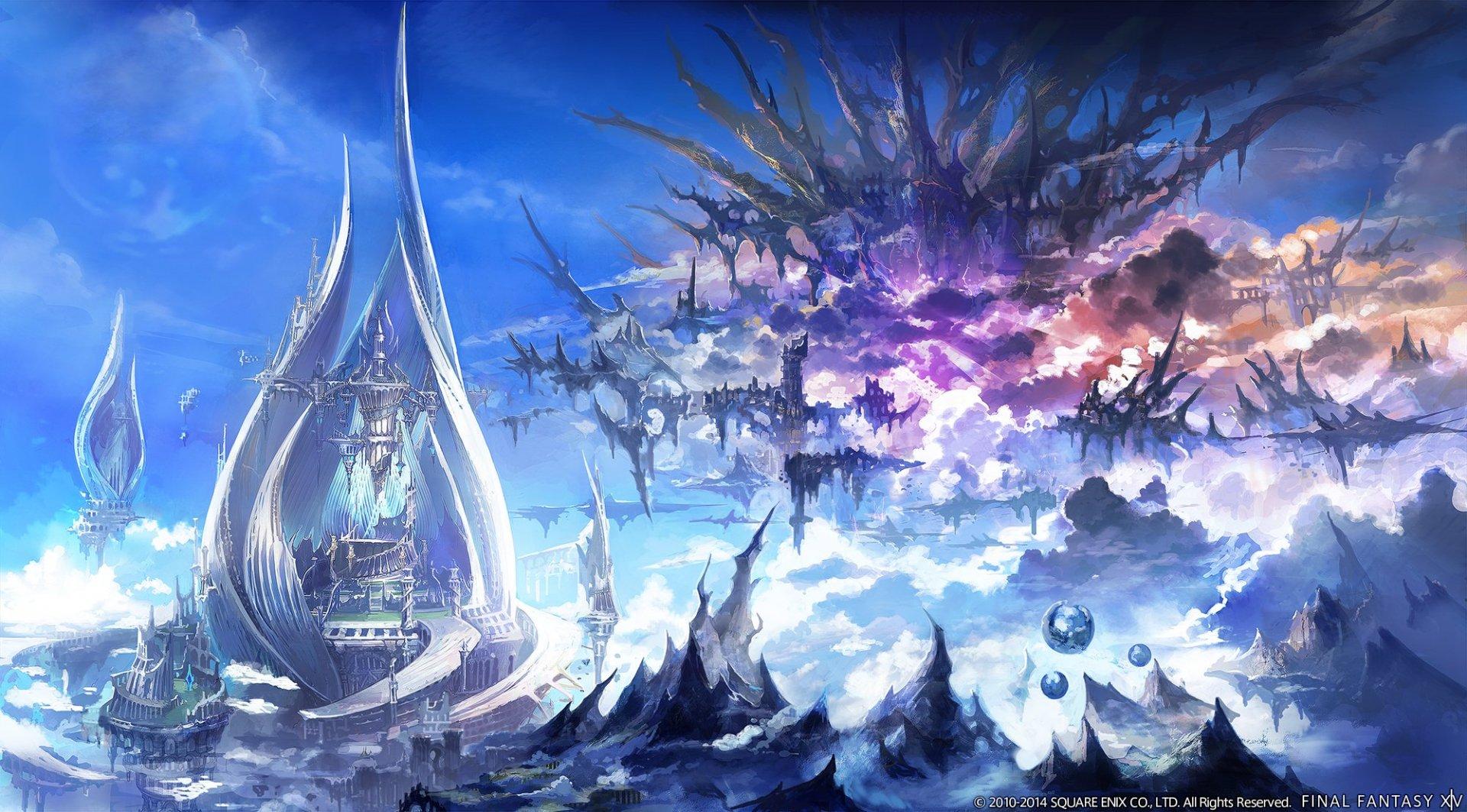 Final Fantasy XIV A Realm Reborn Final Fantasy Realm Reborn Wallpaper 1920x1063