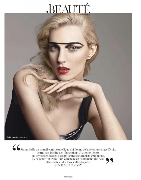 Related Pictures anja rubik for vogue paris april 2012 beautiful 600x768