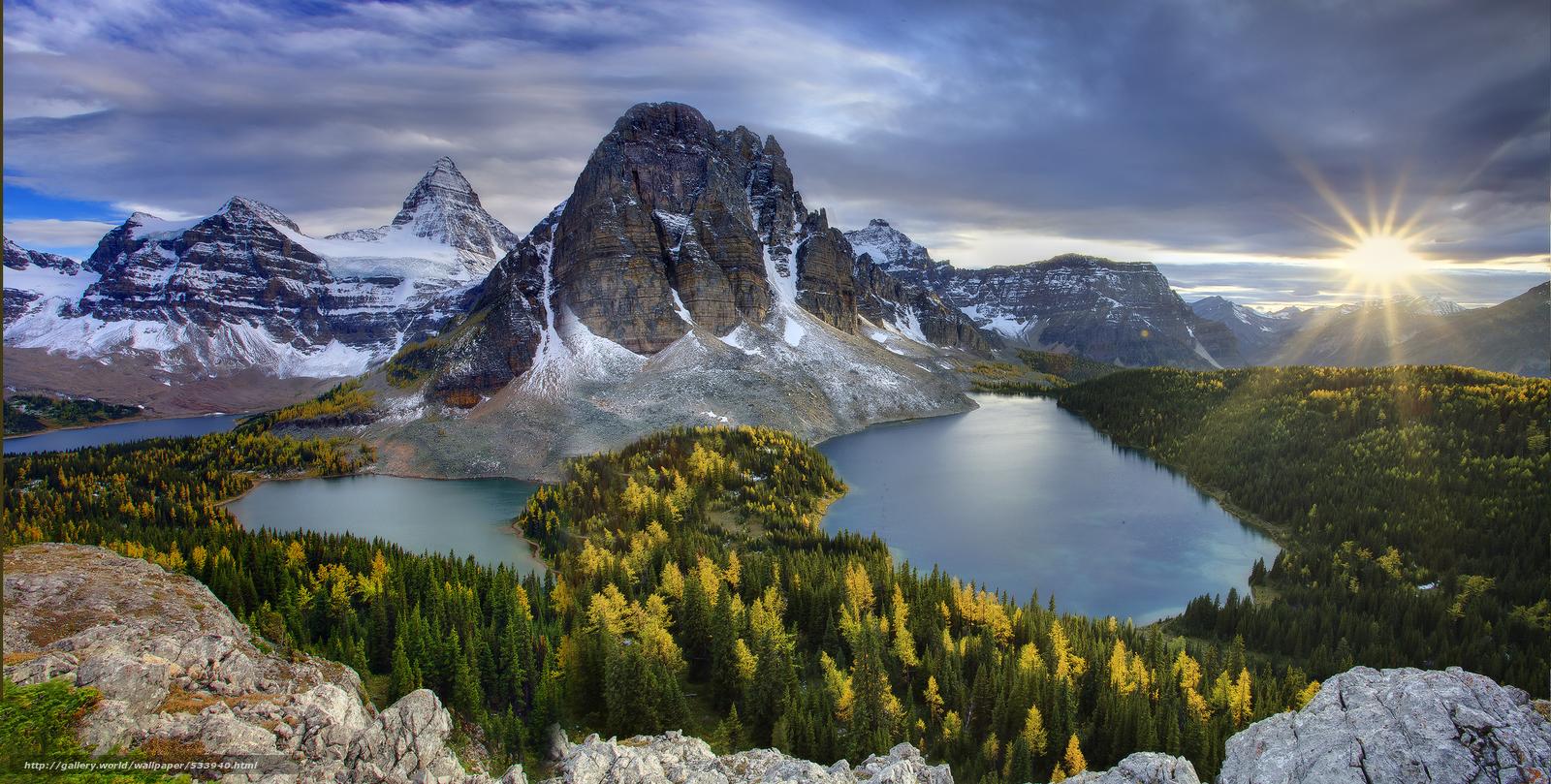 Find panoramic of mt assiniboine   mt assiniboine provincial park 1600x809