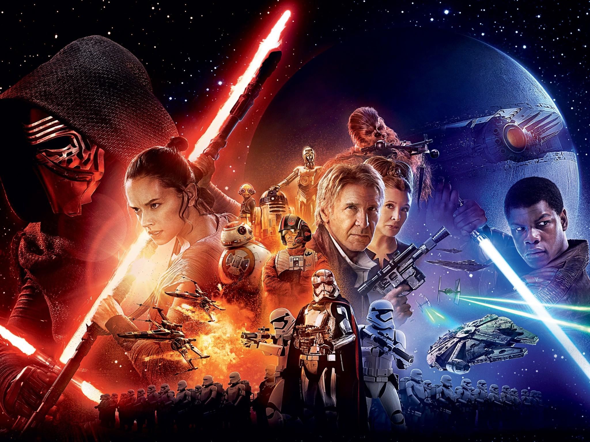 Star Wars The Force Awakens 4K Ultra HD wallpaper 4k WallpaperNet 2048x1536