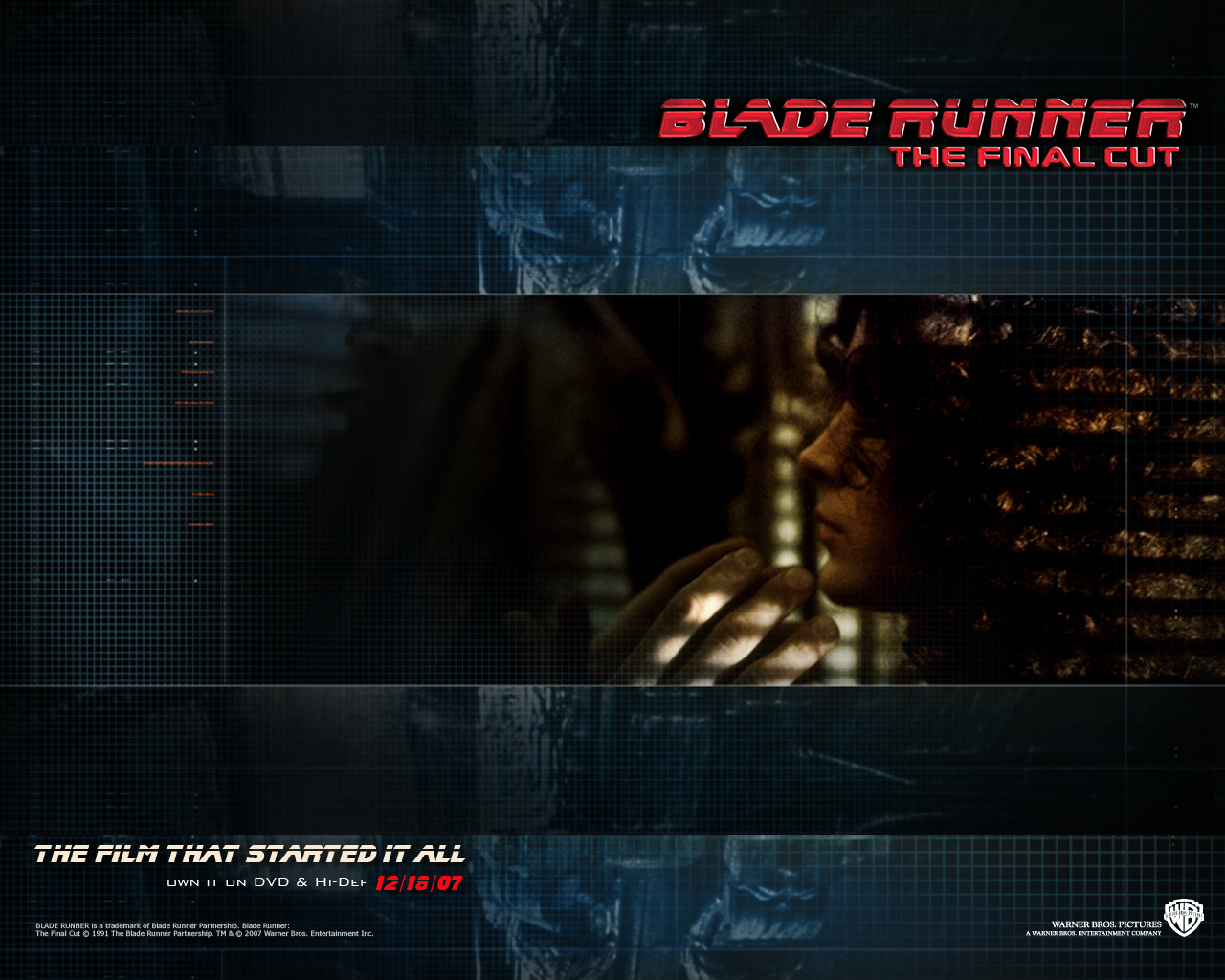 Official Blade Runner Wallpaper   Blade Runner Wallpaper 8207507 1280x1024