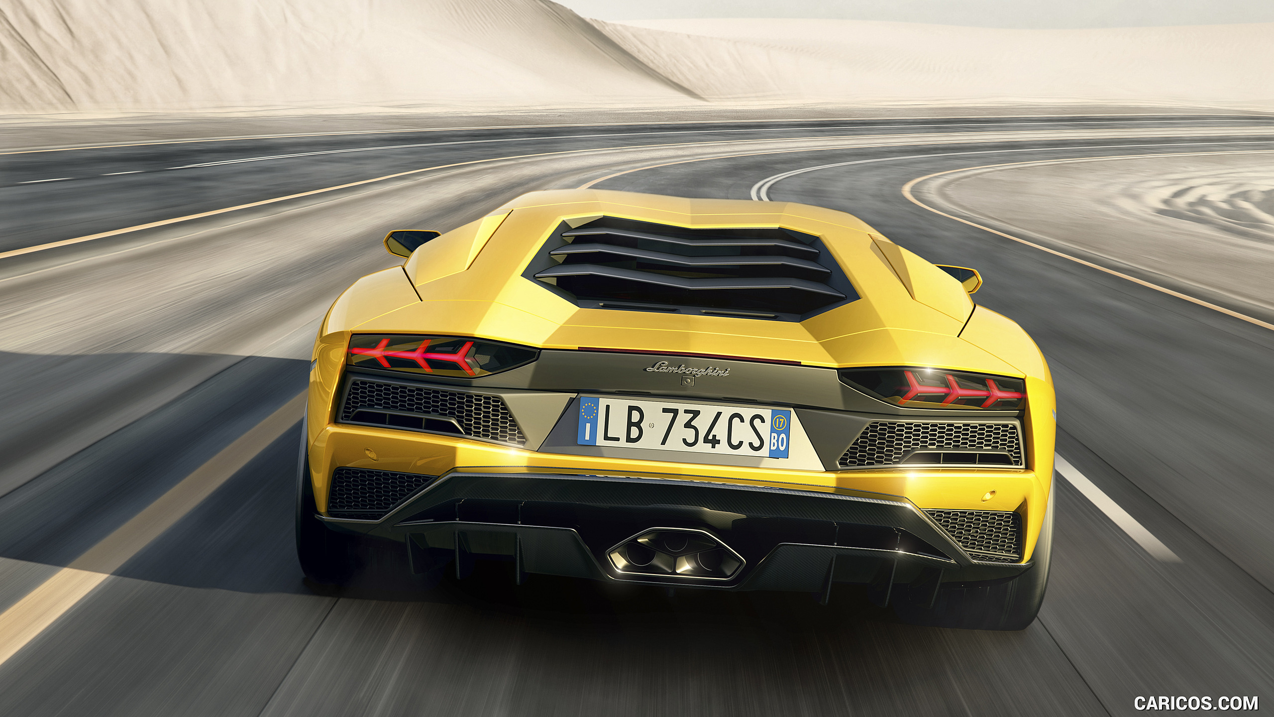2017 Lamborghini Aventador S   Rear HD Wallpaper 8 2560x1440