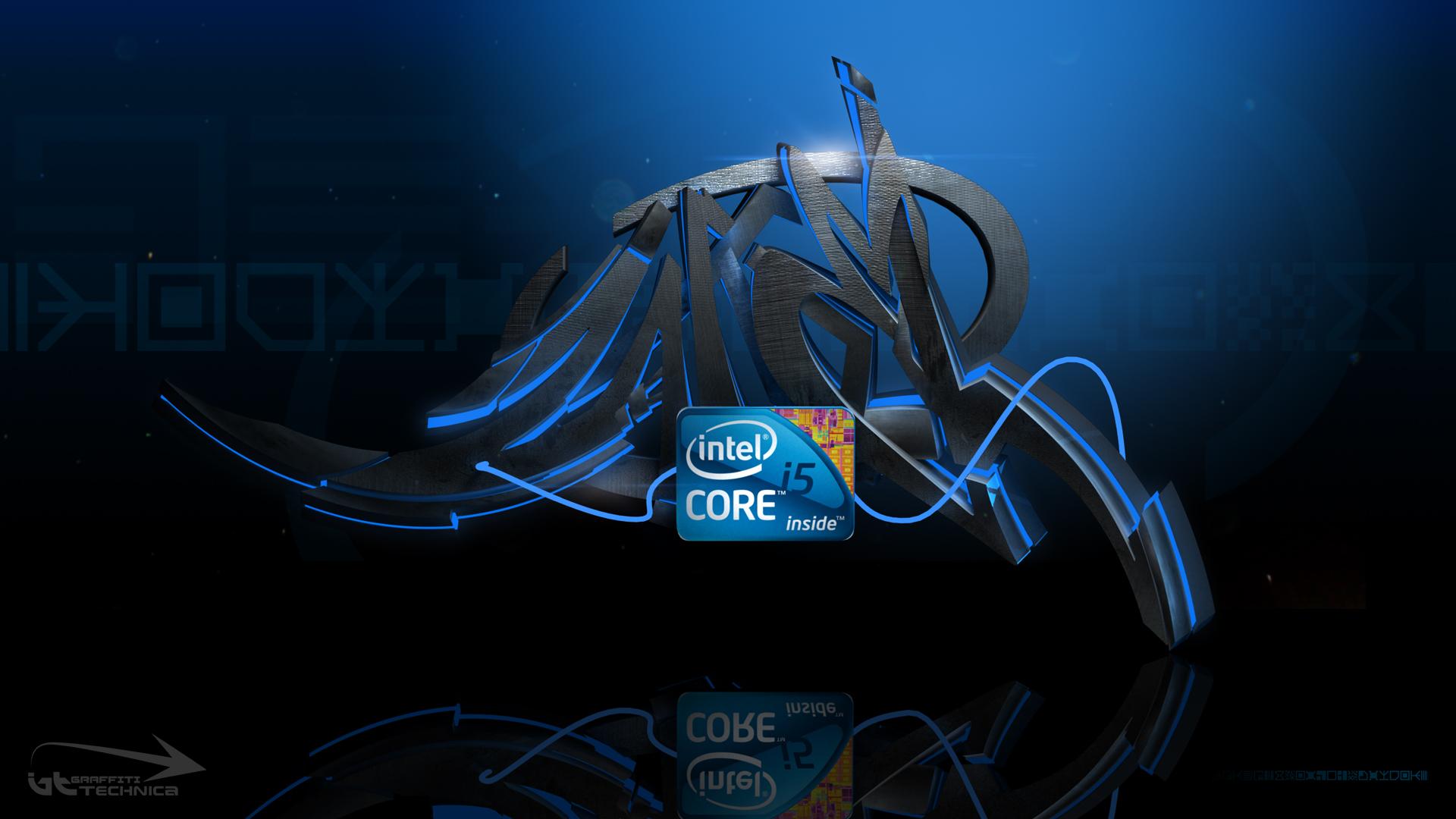 Intel core i5 graffiti Intel core i5 graffiti wallpaper   HD 1920x1080